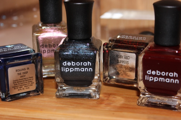 An assortment of chic nail colors for the Fall season